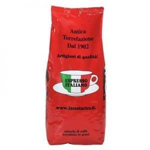 pacco caffè in grani miscela rossa