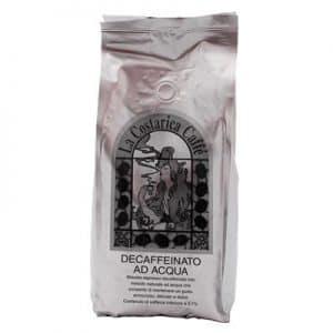 Pacco caffè in grani decaffeinato